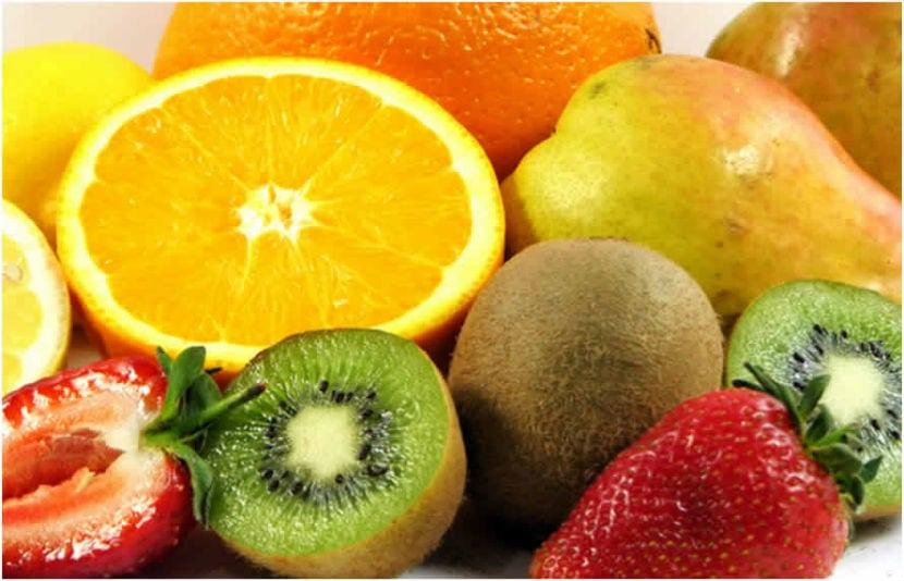 frutas o vegetales con vitamina c