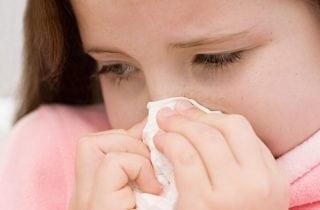 nina con gripa