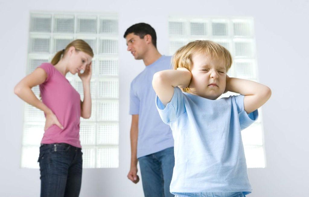 Las Discusiones De Pareja Y Los Hijos