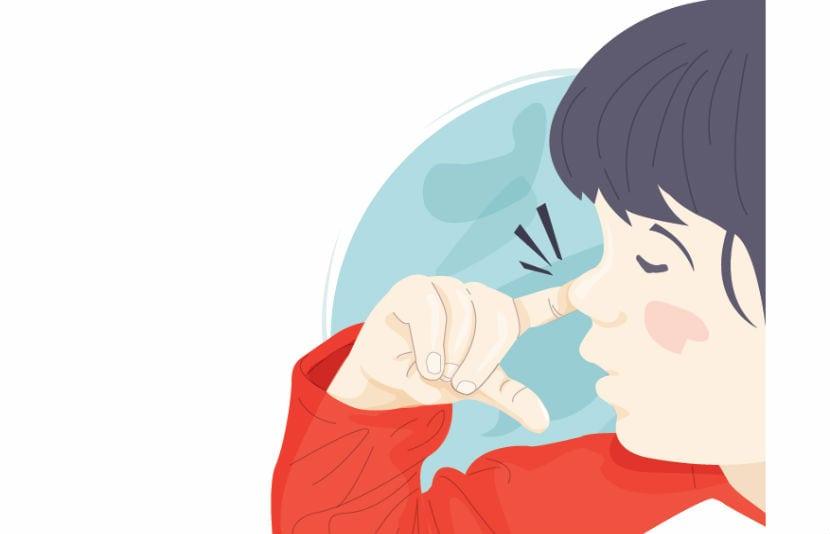 extraer cuerpo extraño nariz