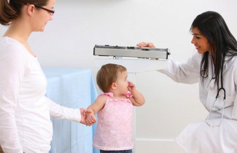 Falta de hormona de crecimiento en bebes