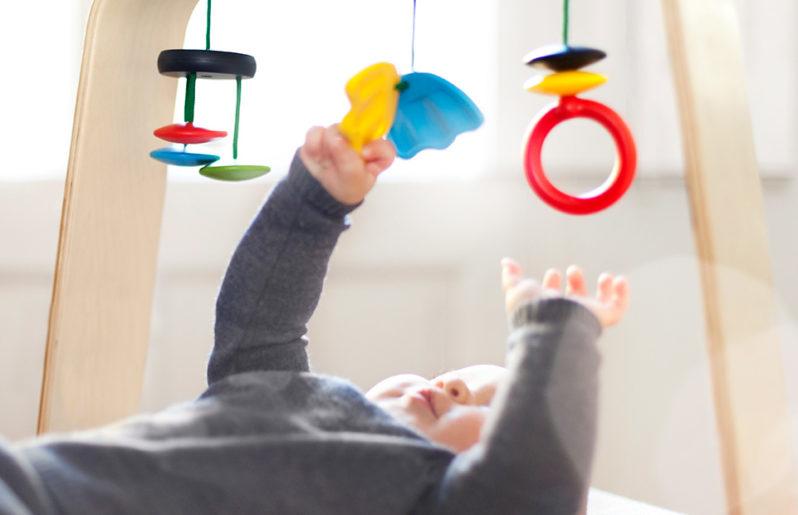 La coordinación ojo-mano de tu bebé