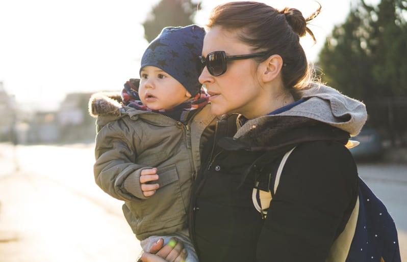 tia con su sobrino
