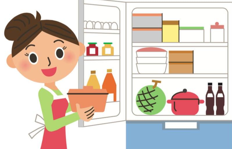 guardar alimentos en el refrigerador