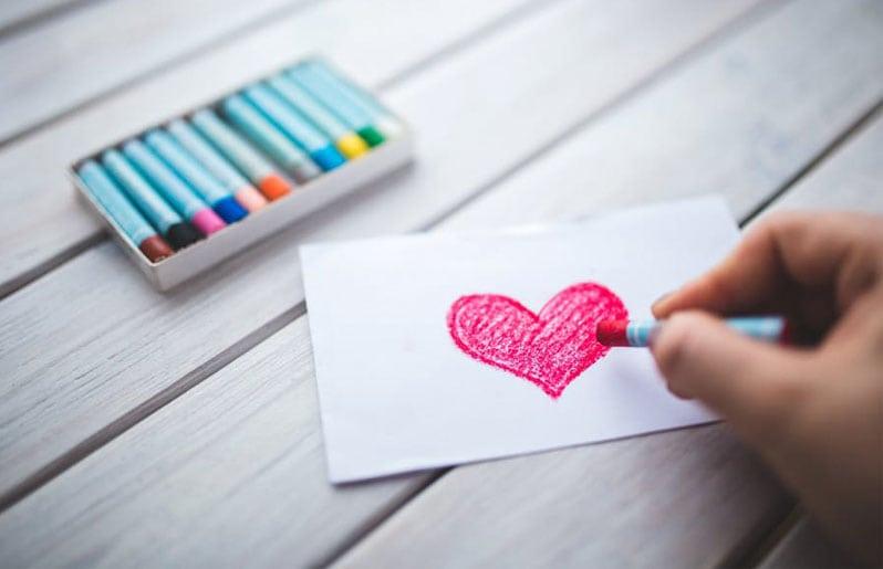 dibujo de amor