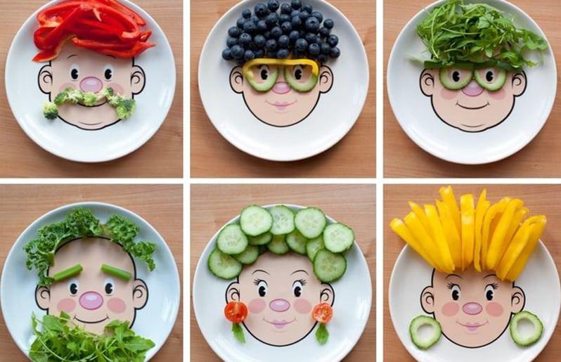 gusto por la comida