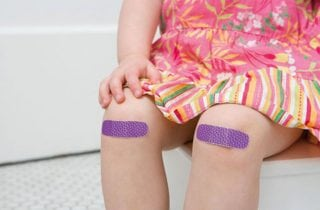 raspones en la rodilla