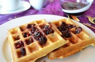 waffles para ninos