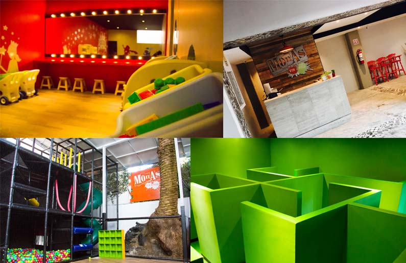 Restaurantes para niños satelite