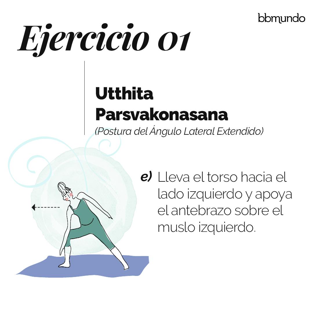 1. Utthita Parshvakonasana