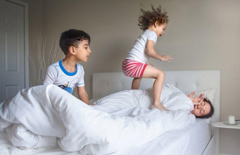 La maternidad nunca duerme