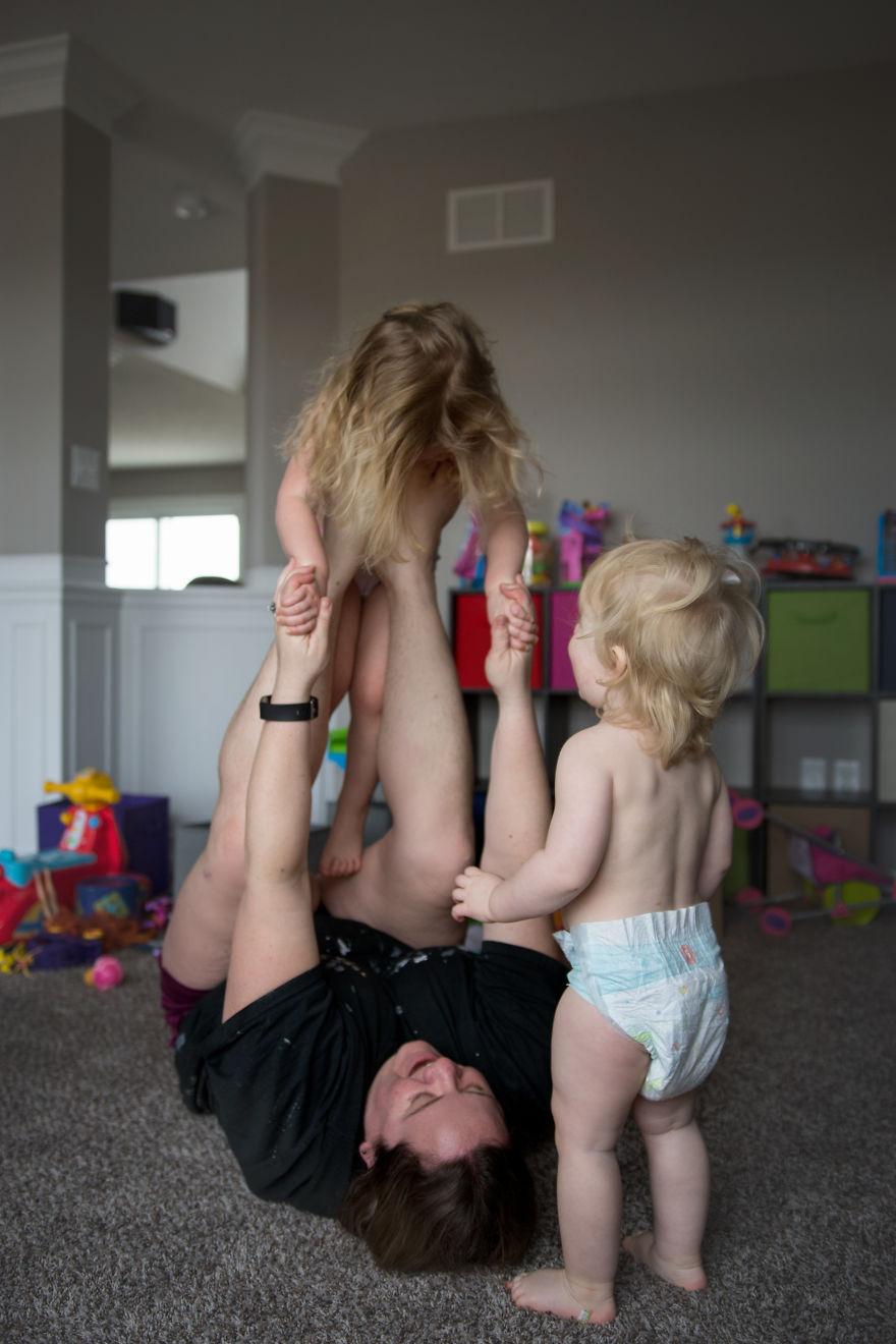 La maternidad es ser el animador de sus hijos