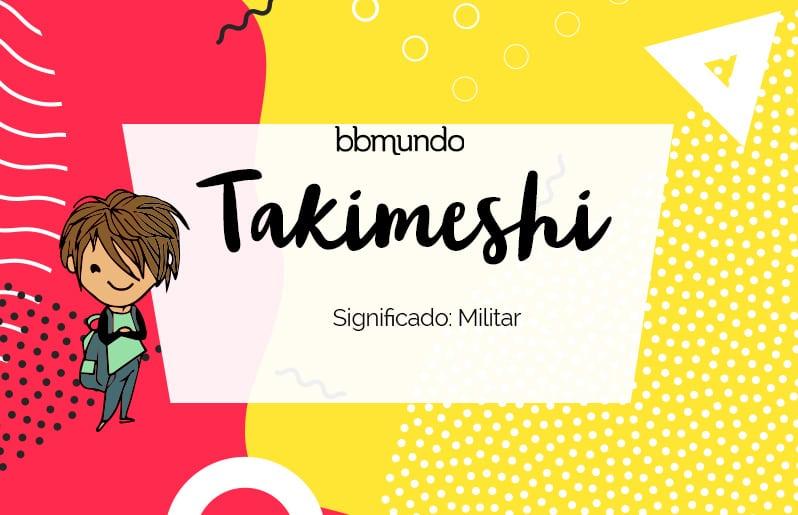 Takimeshi
