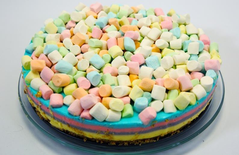 receta-cheesecake-de-arcoiris