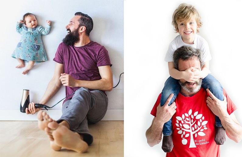 Galería: Fotos Originales De Papás E Hijos