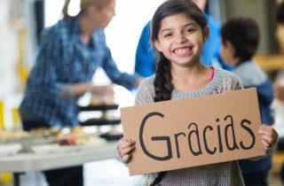 Cómo enseñarle a tu hijo a ser agradecido