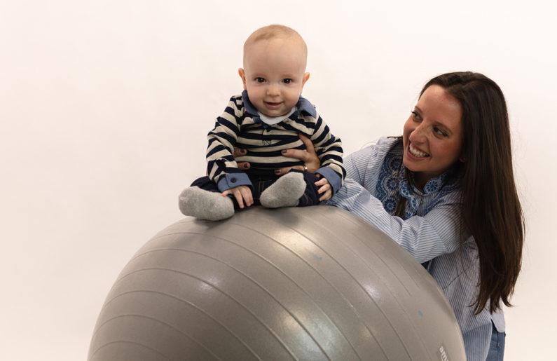 ejercicios para estimular a tu bebé