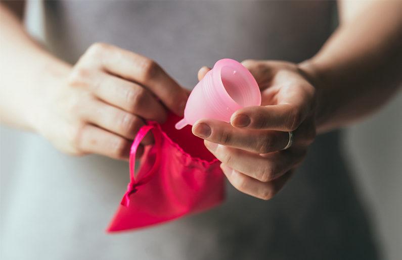 uso de la copa menstrual