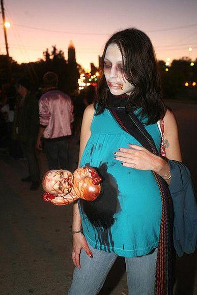 Disfraces originales de Halloween para embarazadas
