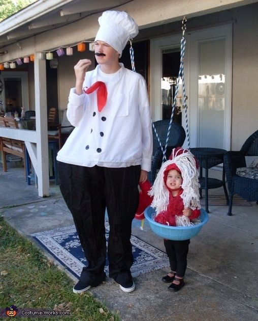 Disfraces padre e hija