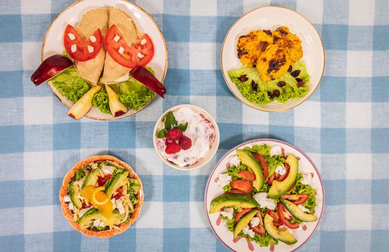 comidas saludables para niños