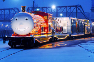 el tren de la navidad