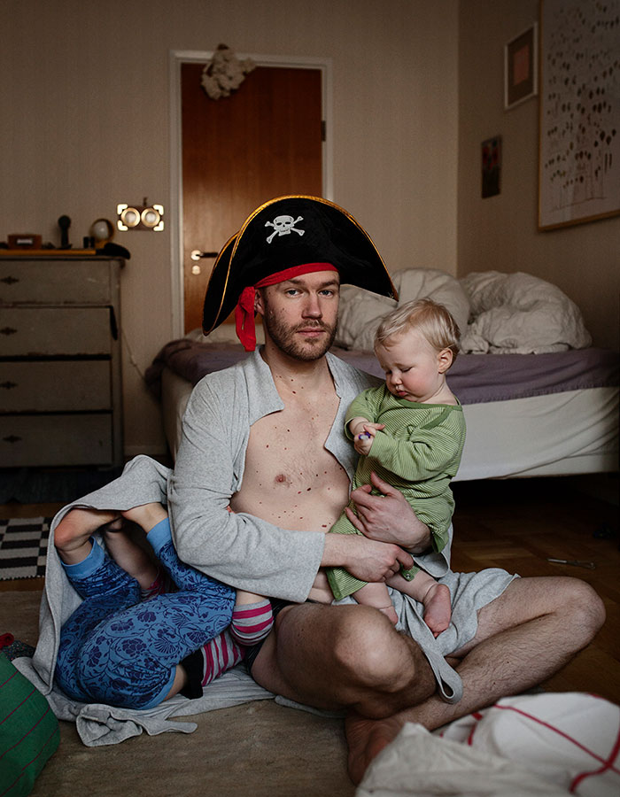La paternidad en Suecia