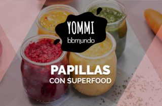 papillas con superfood