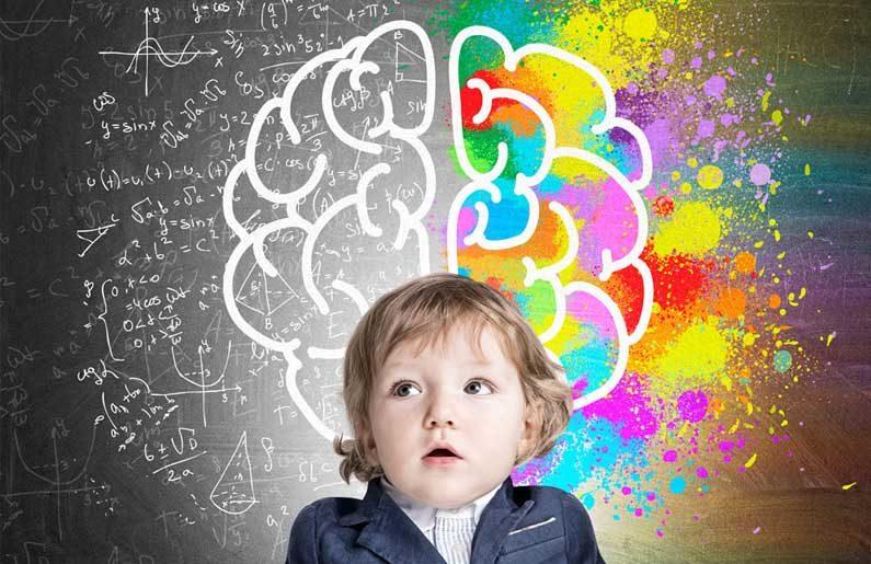 cerebro de los niños