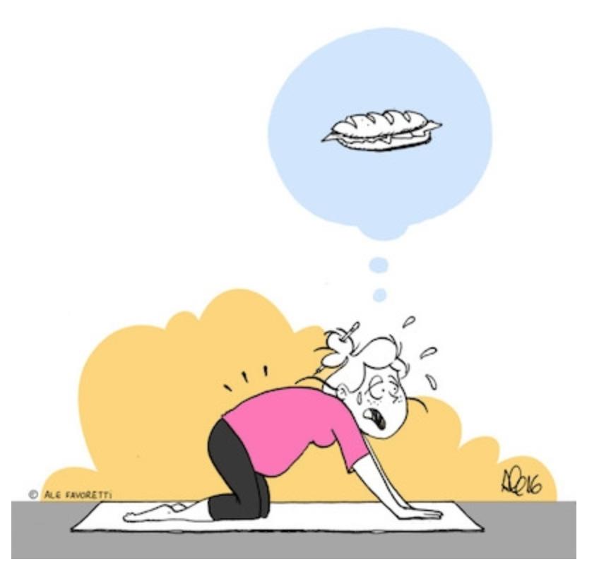 Luchando con el peso