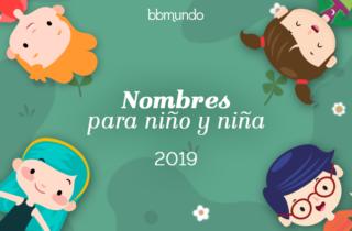 Nombres populares de niño y niña 2019