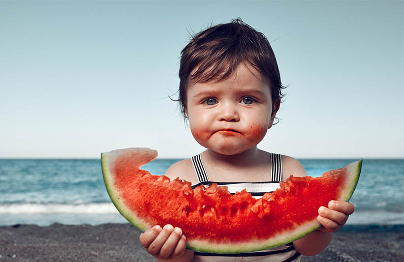 Método para conocer las porciones perfectas de comida para tu hijo