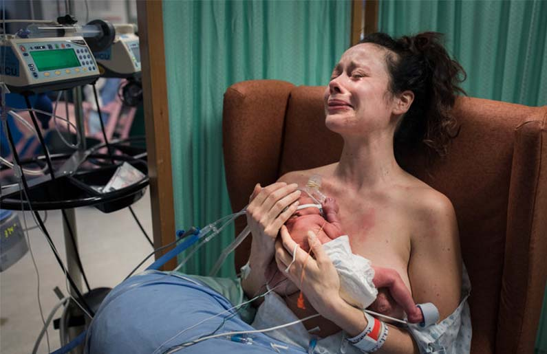 Las mejores fotos de partos de 2019
