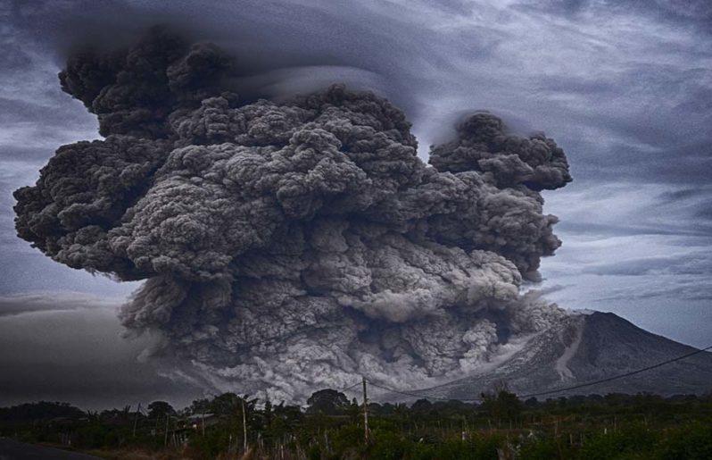 Ceniza volcánica: cuidados infantiles por exhalaciones del Popocatépetl