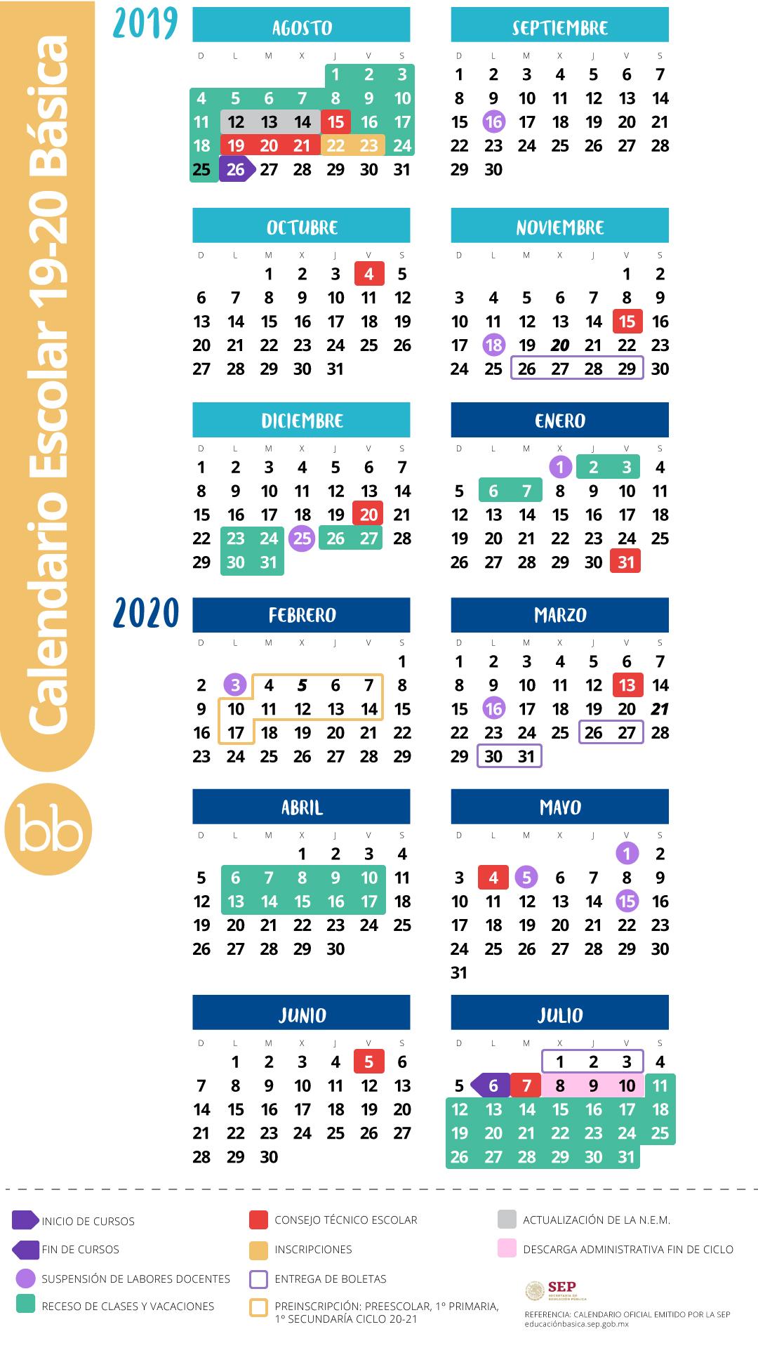 Calendario Junio Julio 2020.Adios A Los Viernes De Consejo Tecnico En El Nuevo Calendario Escolar