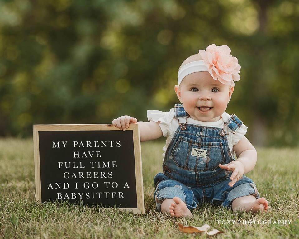 Mis padres tienen carreras de tiempo completo y tengo una niñera