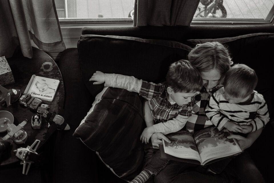 Fotografías que hacen homenaje a la pérdida de un bebé