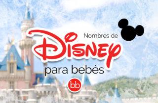 Nombres de Disney para bebés