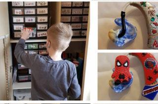 Implantes cocleares con forma de superhéroes para niños