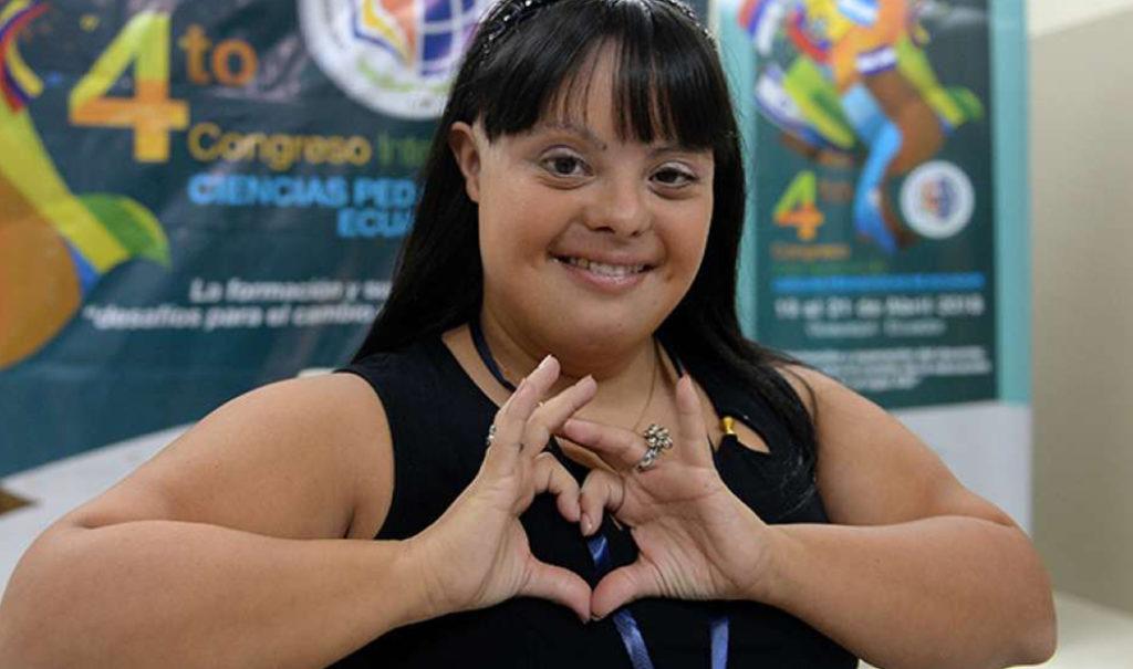 Maestra con Síndrome de Down que se convierte en titular en Argentina