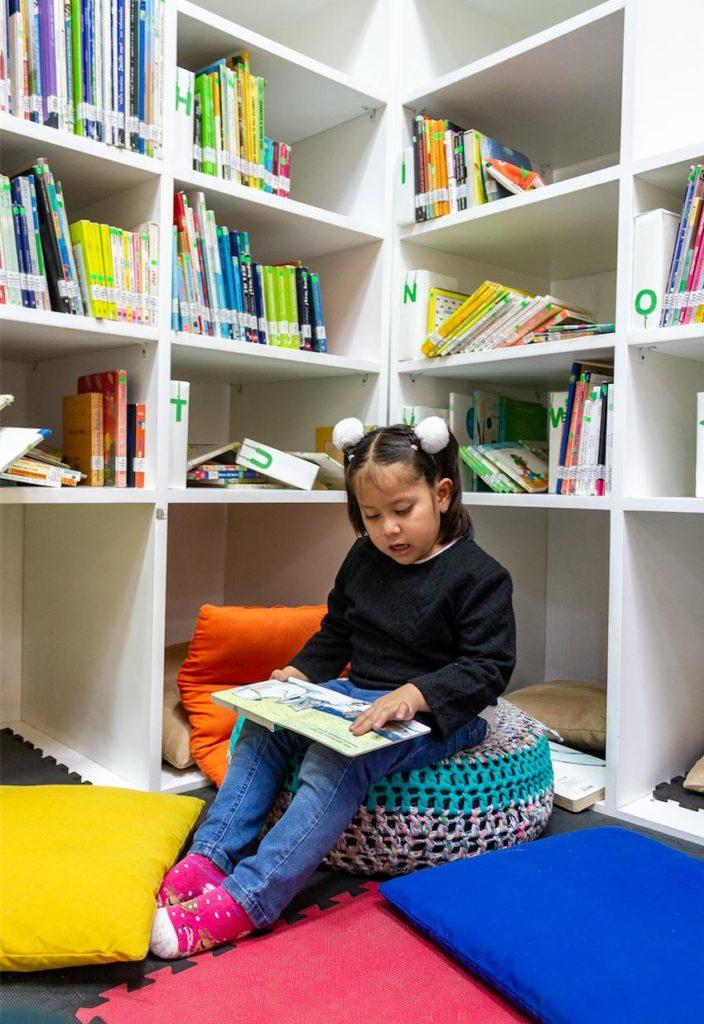biblioteca exclusiva para niños