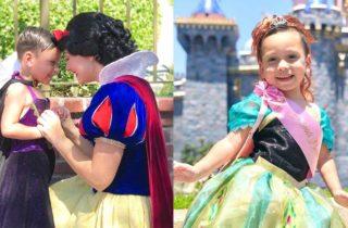 Niño con autismo disfruta disfrazarse de princesa de Disney se vuelve viral