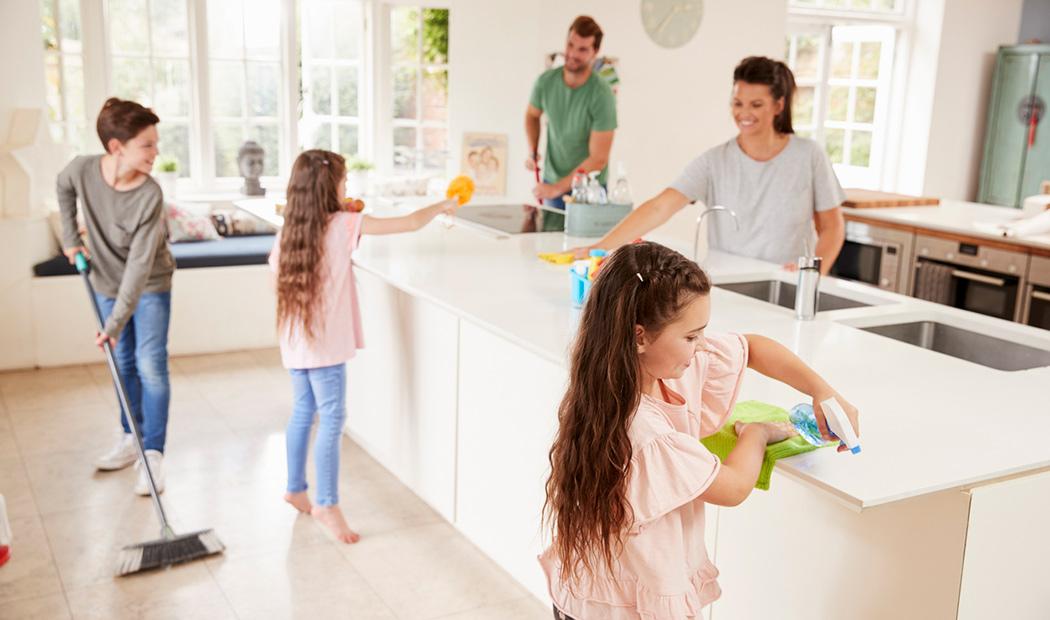 Limpieza profunda y en familia