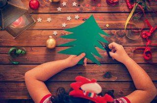 Manualidades Navideñas fáciles para niños