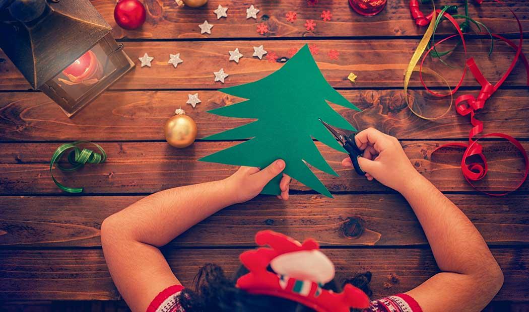 7 Manualidades navideñas fáciles para niños