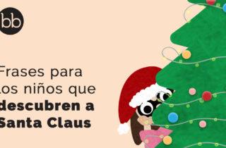 Frases si tu hijo descubre a Santa Claus
