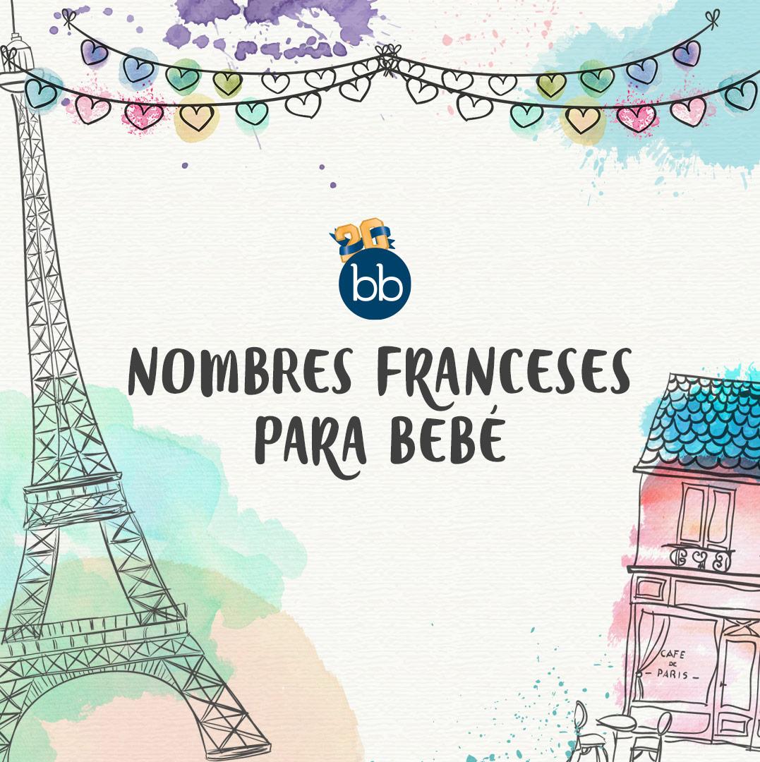 18 nombres franceses para bebés