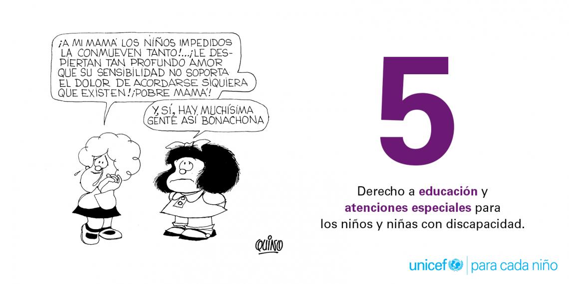 5. Derecho a educación
