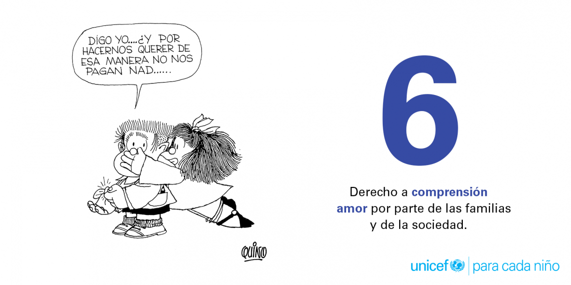 6. Derecho a compresión y amor